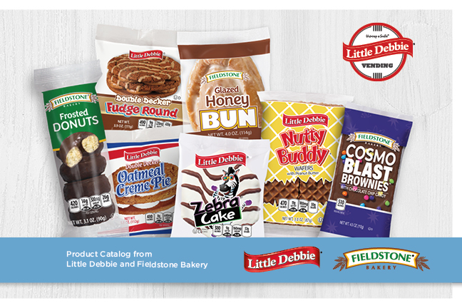 Little Debbie Vending Catalog